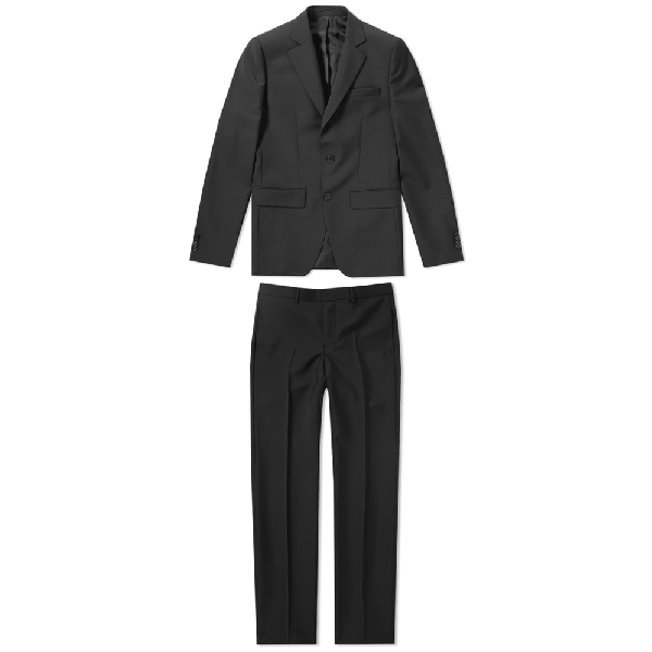 Givenchy Single Breasted Suit In Black