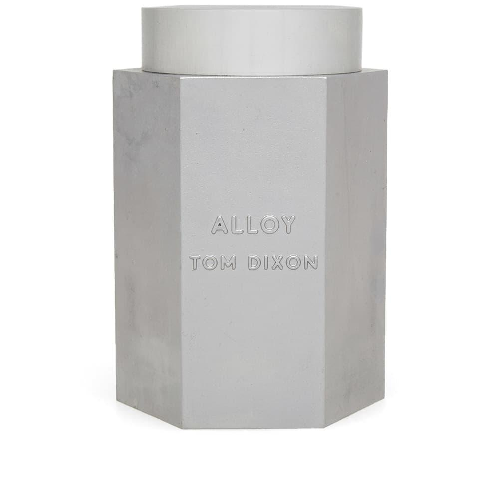 Tom Dixon Alloy Candle In Silver