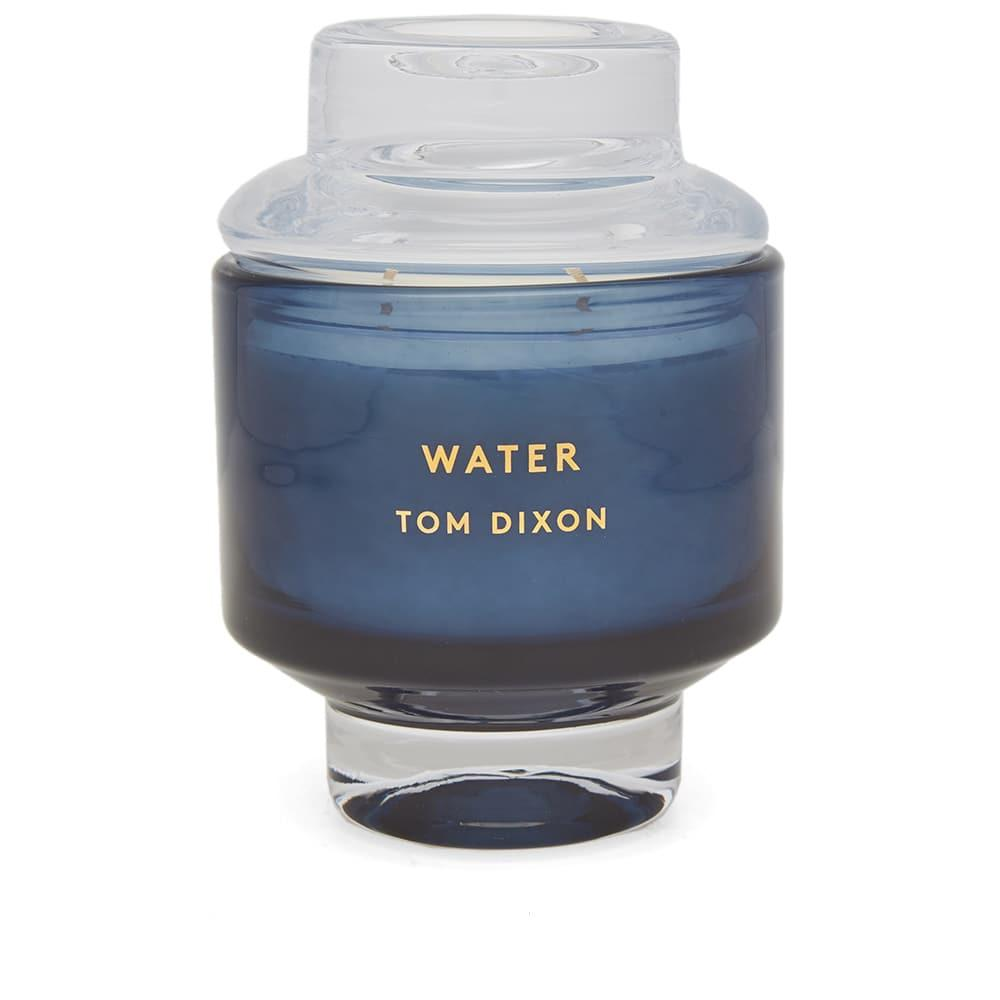 Tom Dixon Elements Water Candle In Blue