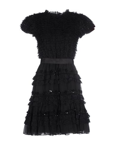 Red Valentino Party Dress In Black