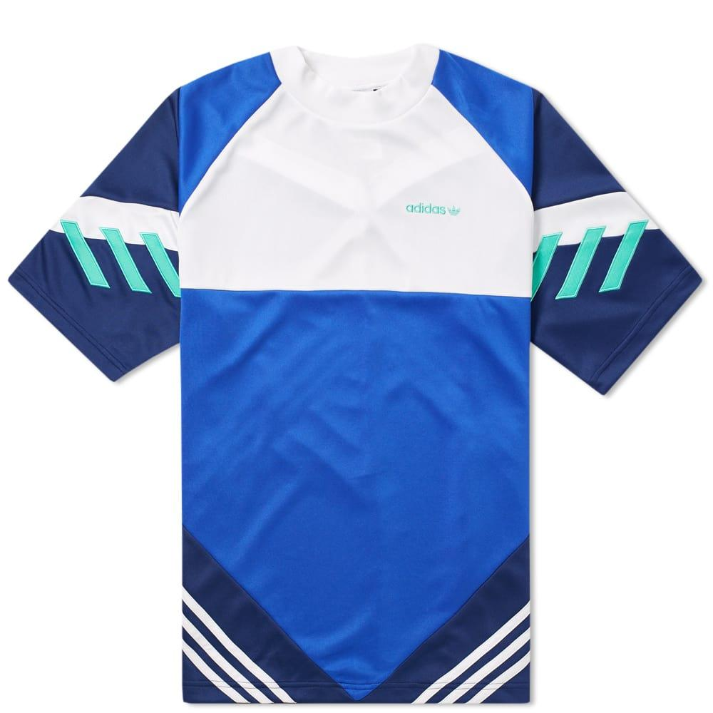 Adidas Chop Shop Tee in Blue