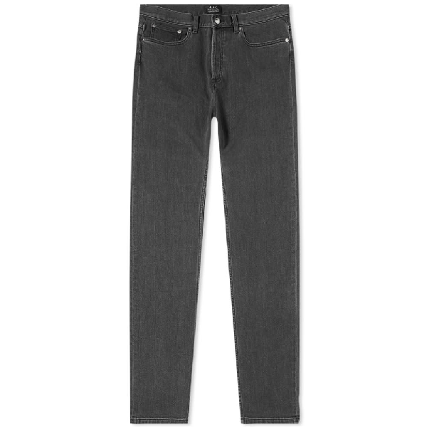 A.P.C. Petit Standard Jean In Grey
