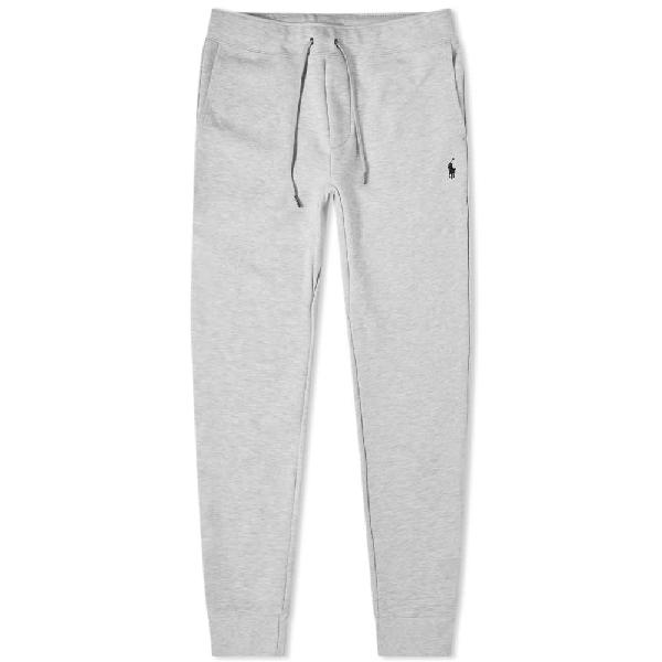 Polo Ralph Lauren Double Knit Tech Fleece Pant In Neutrals