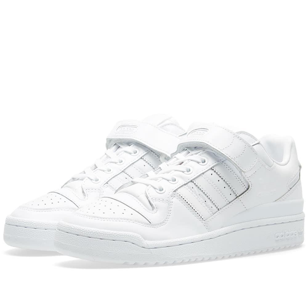 fingir boicotear descuento  Adidas Originals Adidas Forum Lo Refined In White | ModeSens