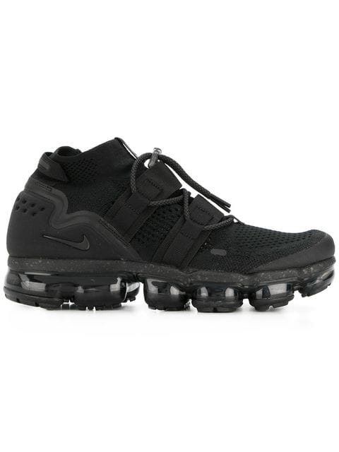 half off 06c5c 9a59a Nike Air Vapormax Flyknit Utility Sneakers - Farfetch in Black