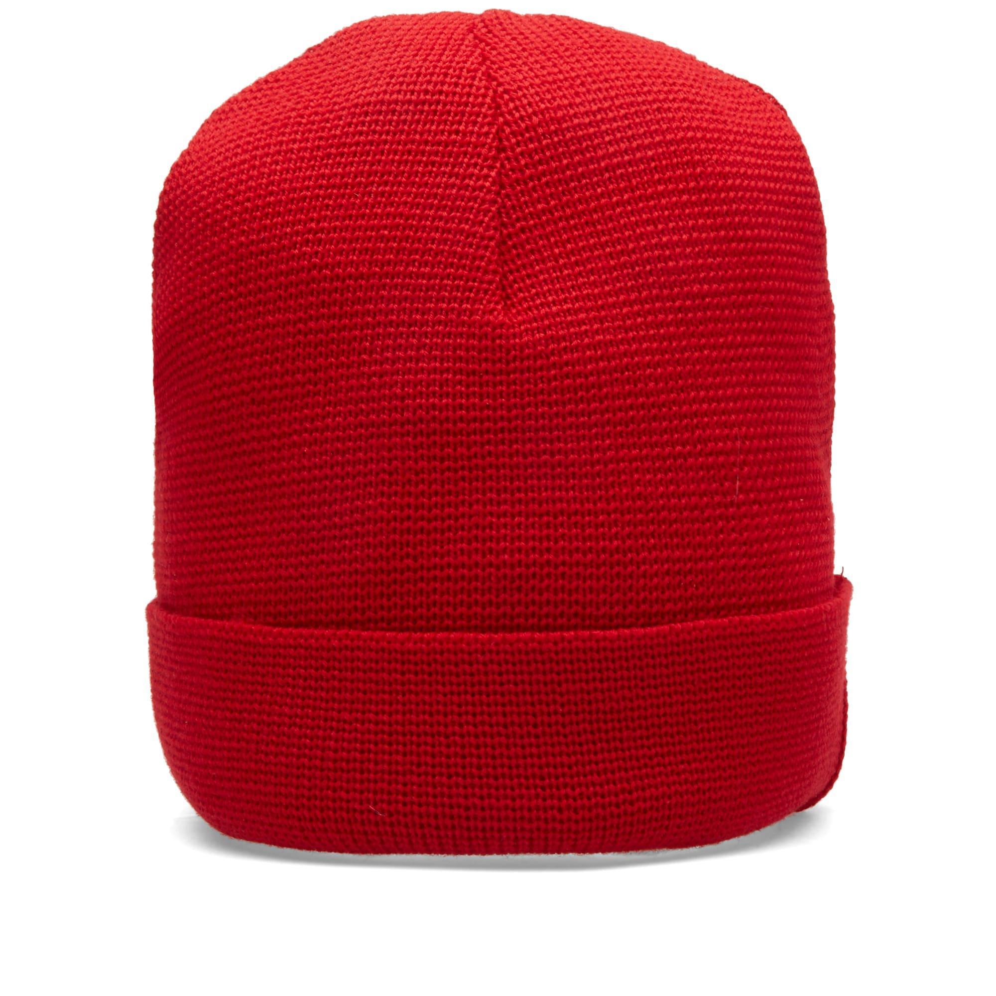 ce4ff9f0be8 Ami Alexandre Mattiussi Ami Wool Beanie In Red