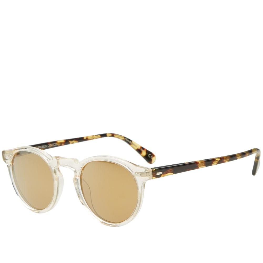 00fbf93658 Oliver Peoples Gregory Peck Sunglasses In Neutrals