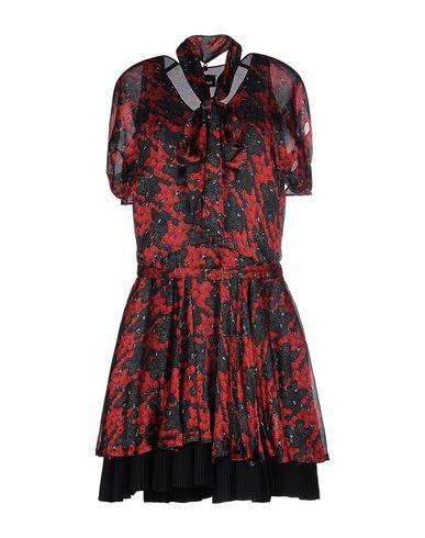 Just Cavalli Short Dress In Red