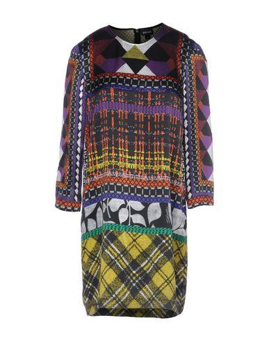 Just Cavalli Short Dress In Mauve