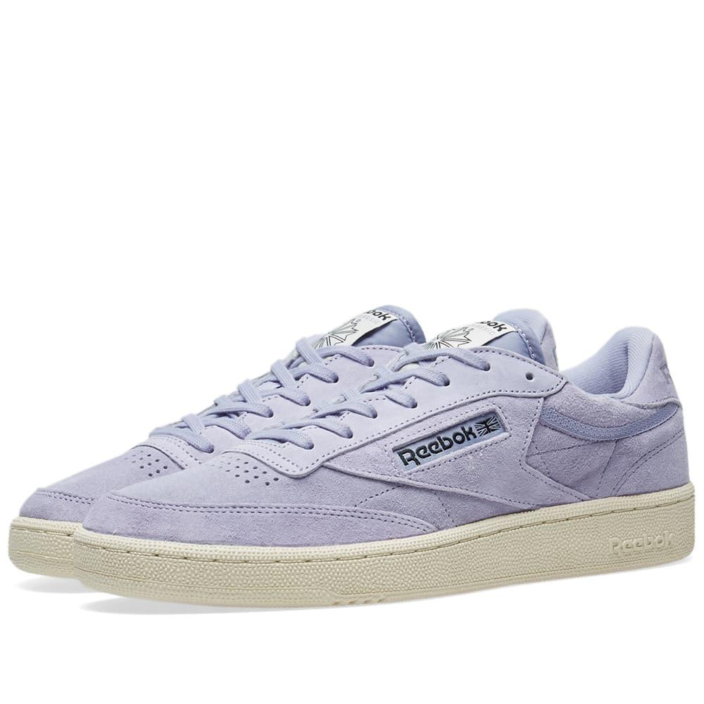 ef7af91e295 Reebok Club C 85 Pastels In Purple