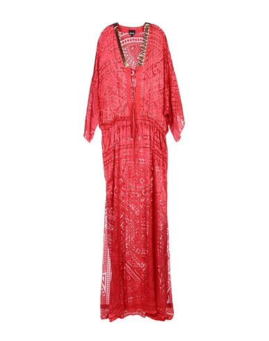 Just Cavalli Long Dress In Red