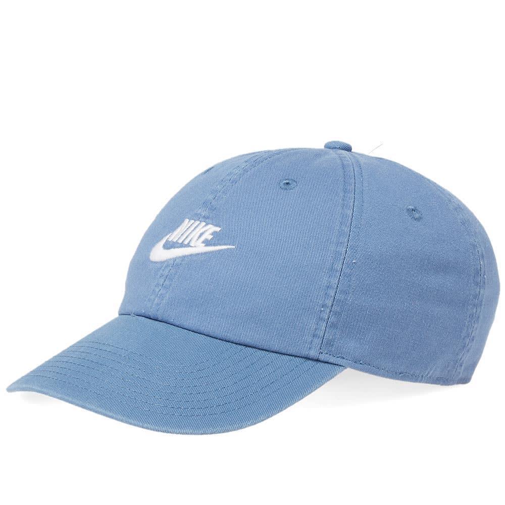 7a0337a4f6ee Nike Futura Washed H86 Cap In Blue