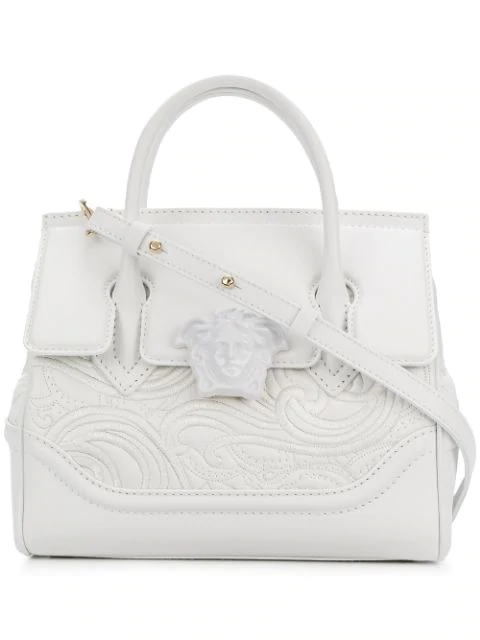 e3b88a655f Versace Embroidered Palazzo Empire Bag In Kbjoc | ModeSens