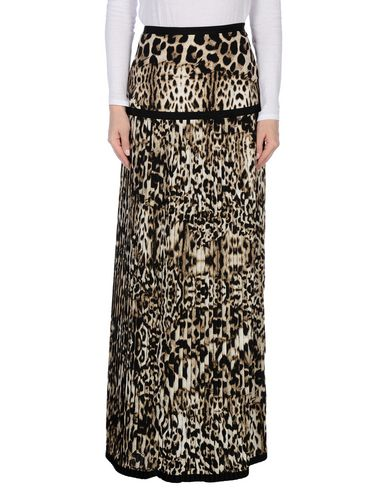 Just Cavalli Long Skirts In Sand