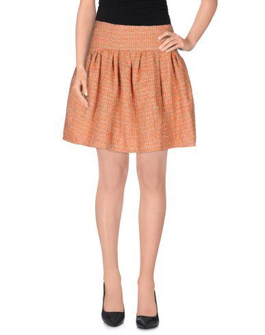 Red Valentino Mini Skirt In Orange
