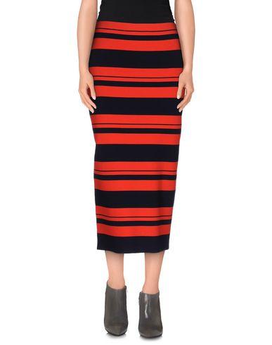Dkny 3/4 Length Skirt In Red