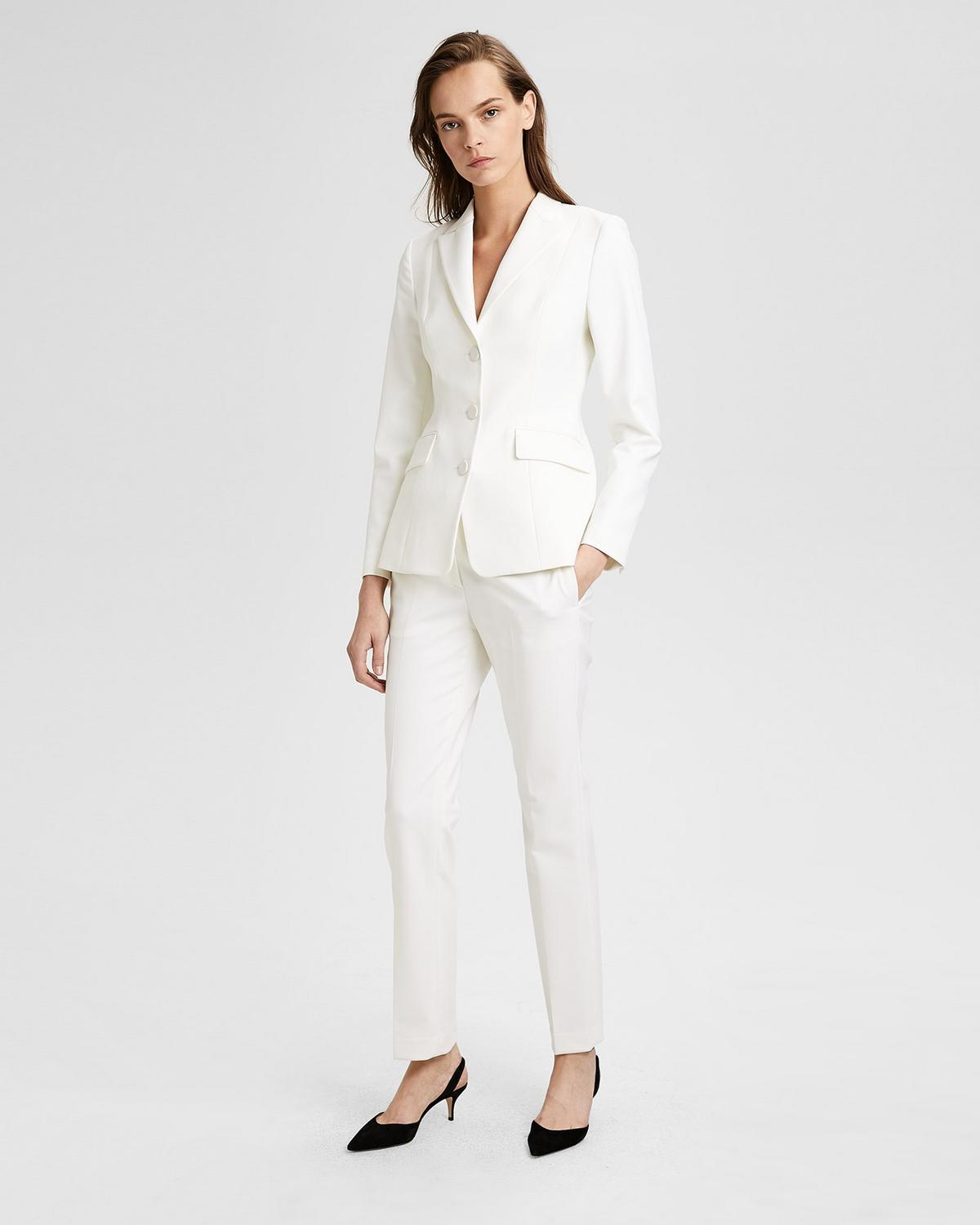 a3729cf5256f Theory Wool Tux Pant In Winter White