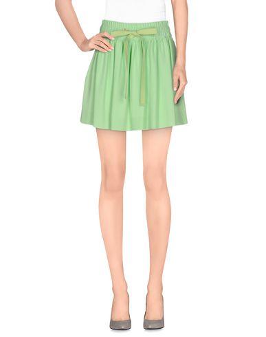Red Valentino Mini Skirt In Light Green