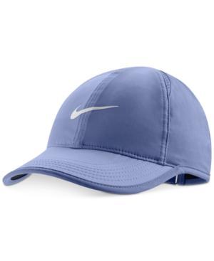 1f1bb5bfd Nike 'Feather Light' Dri-Fit Cap - Purple In Purple Slate/Vast Grey ...