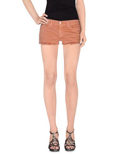 Dondup Denim Shorts In Skin Color