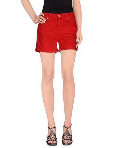 Dondup Denim Shorts In Red