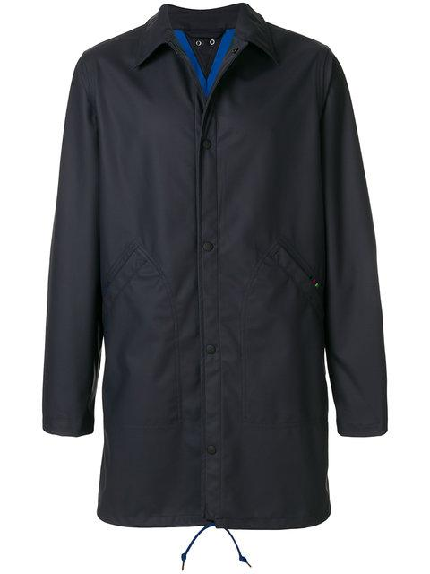 Ps By Paul Smith Water-resistant Rubberised Coat