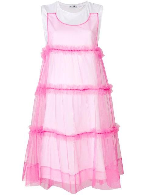 P.a.r.o.s.h. Tulle T-shirt Dress