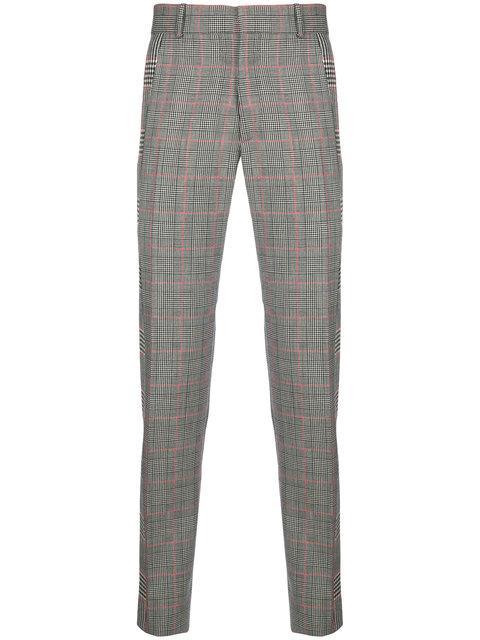 Alexander Mcqueen Check Trousers