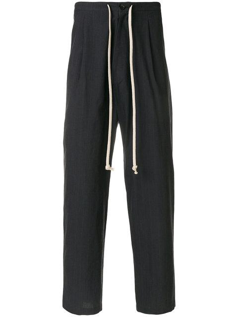 SociÉtÉ Anonyme Sing Sing Trousers In Grey