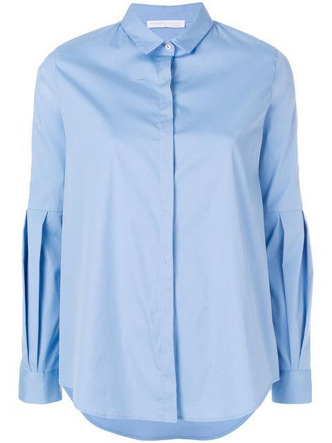 Fabiana Filippi Classic Long Sleeved Shirt - Blue