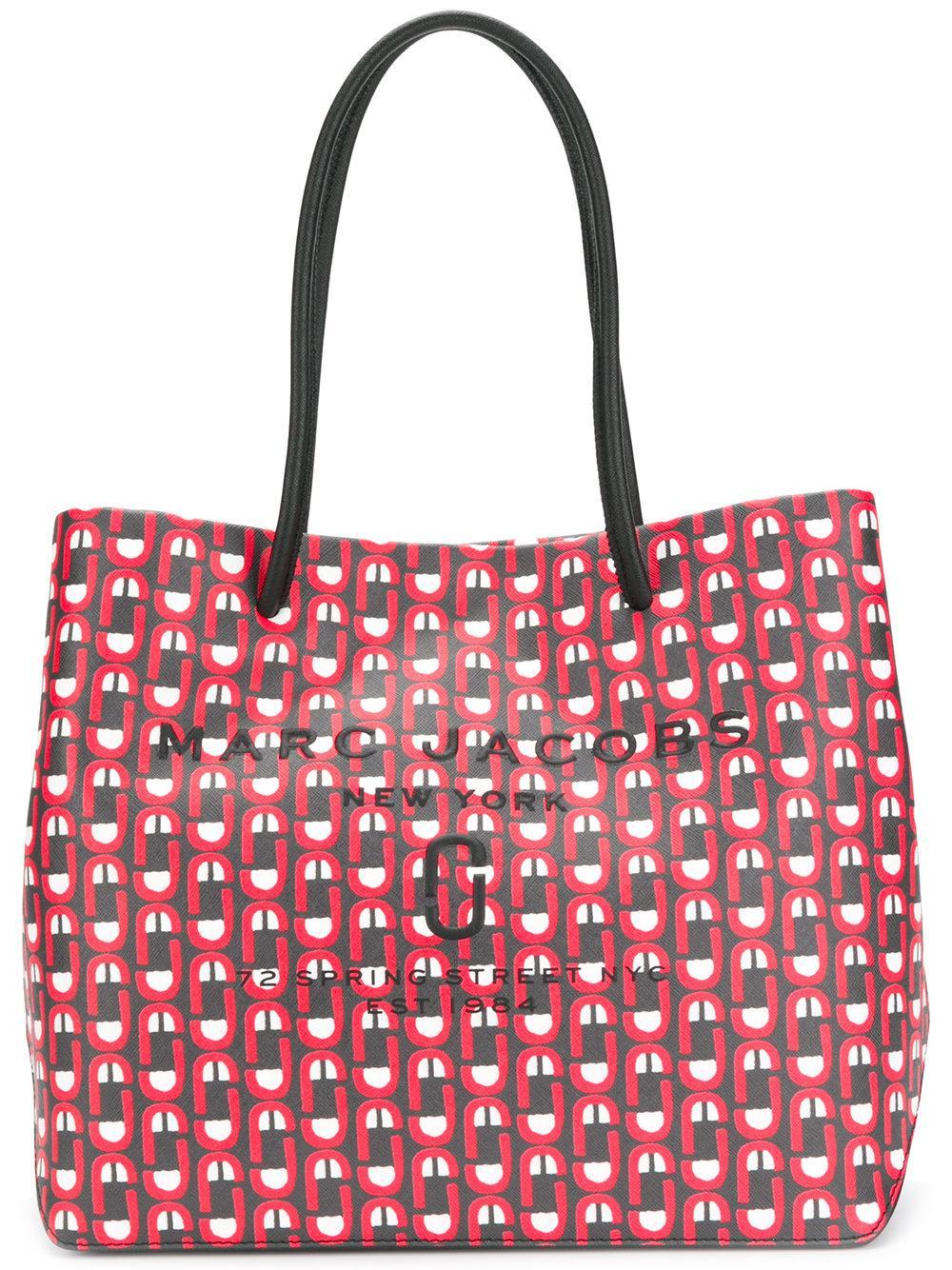 Marc Jacobs Scream Logo Shopper Bag