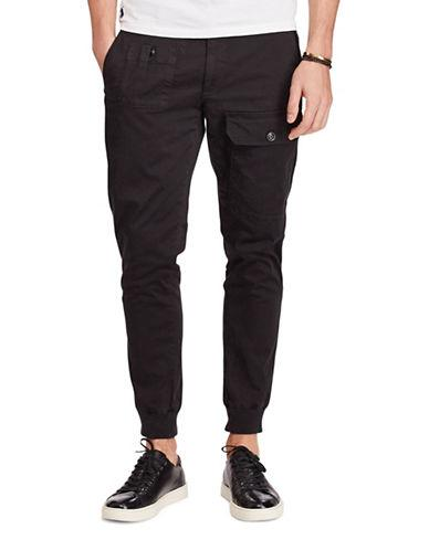 Polo Ralph Lauren Straight Stretch Cargo Joggers-polo Black