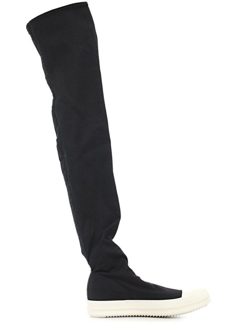 Drkshdw Boots In Black Milk