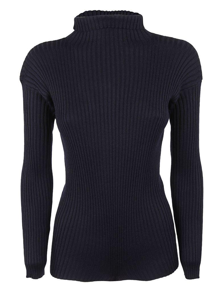 DuŠan Ribbed Sweater In Midnight