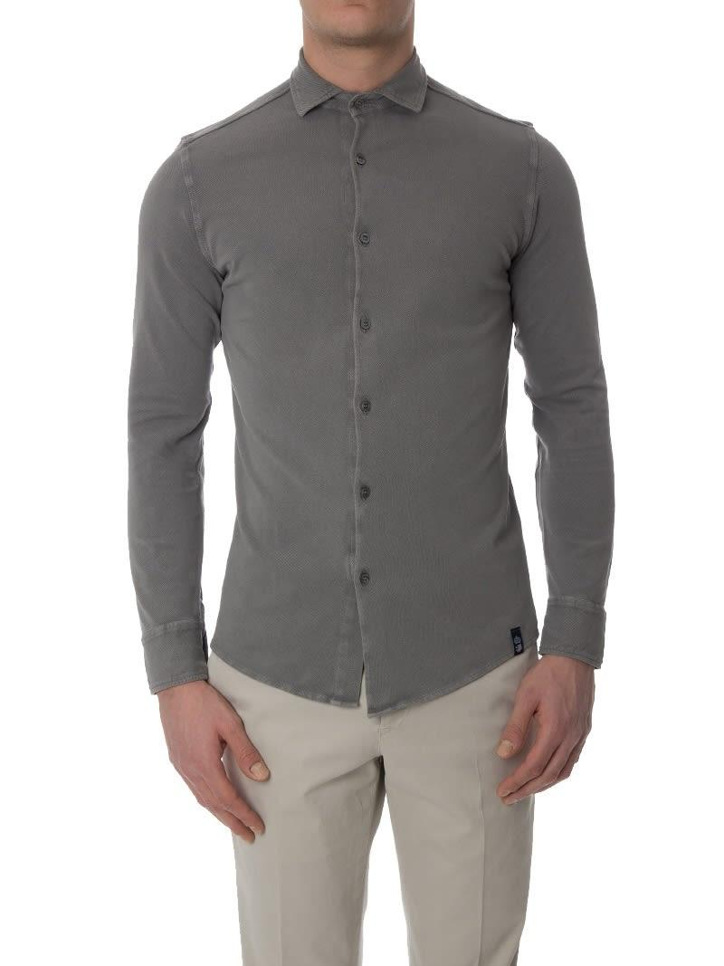 Drumohr Polo Shirt  In Gray