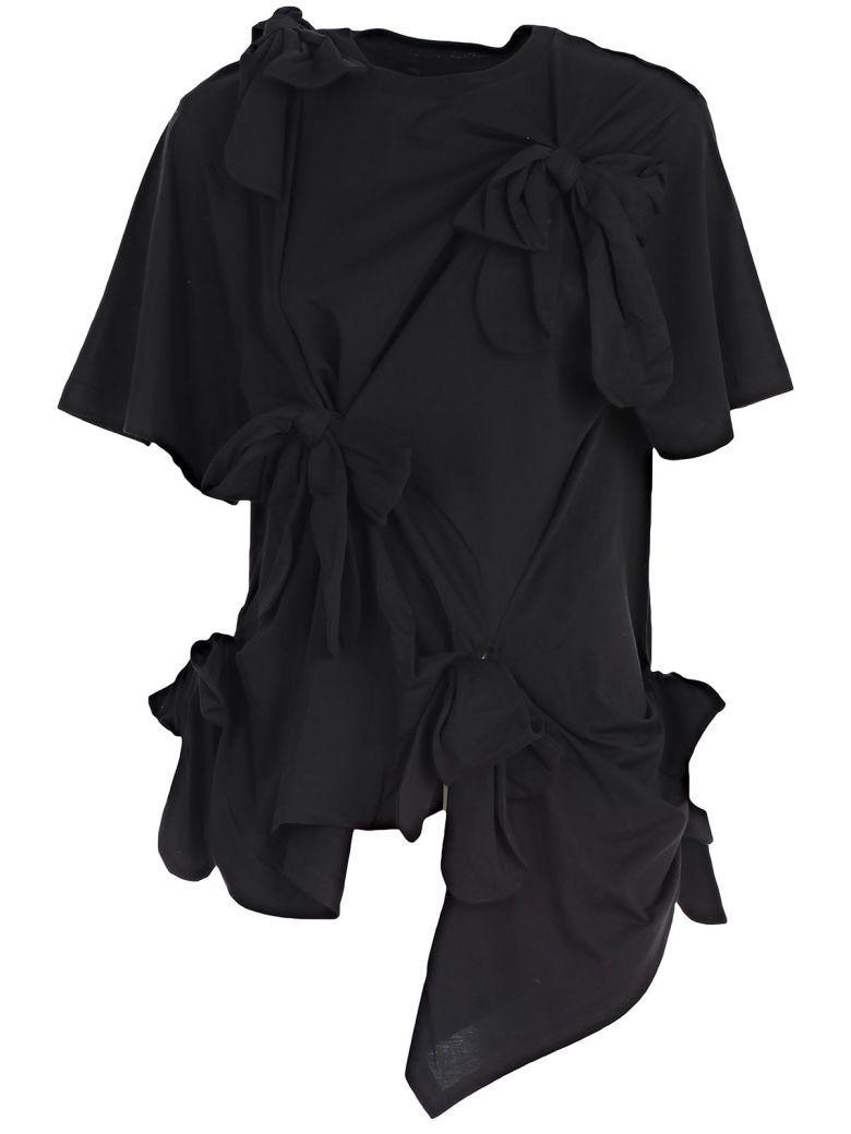 Simone Rocha Short Sleeve T-shirt In Black