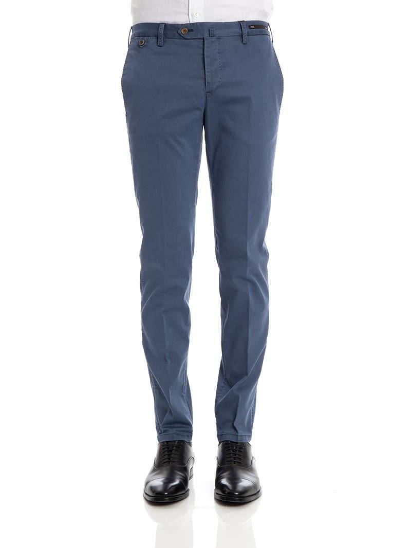 Pt01 Trousers  Fiji In Blue