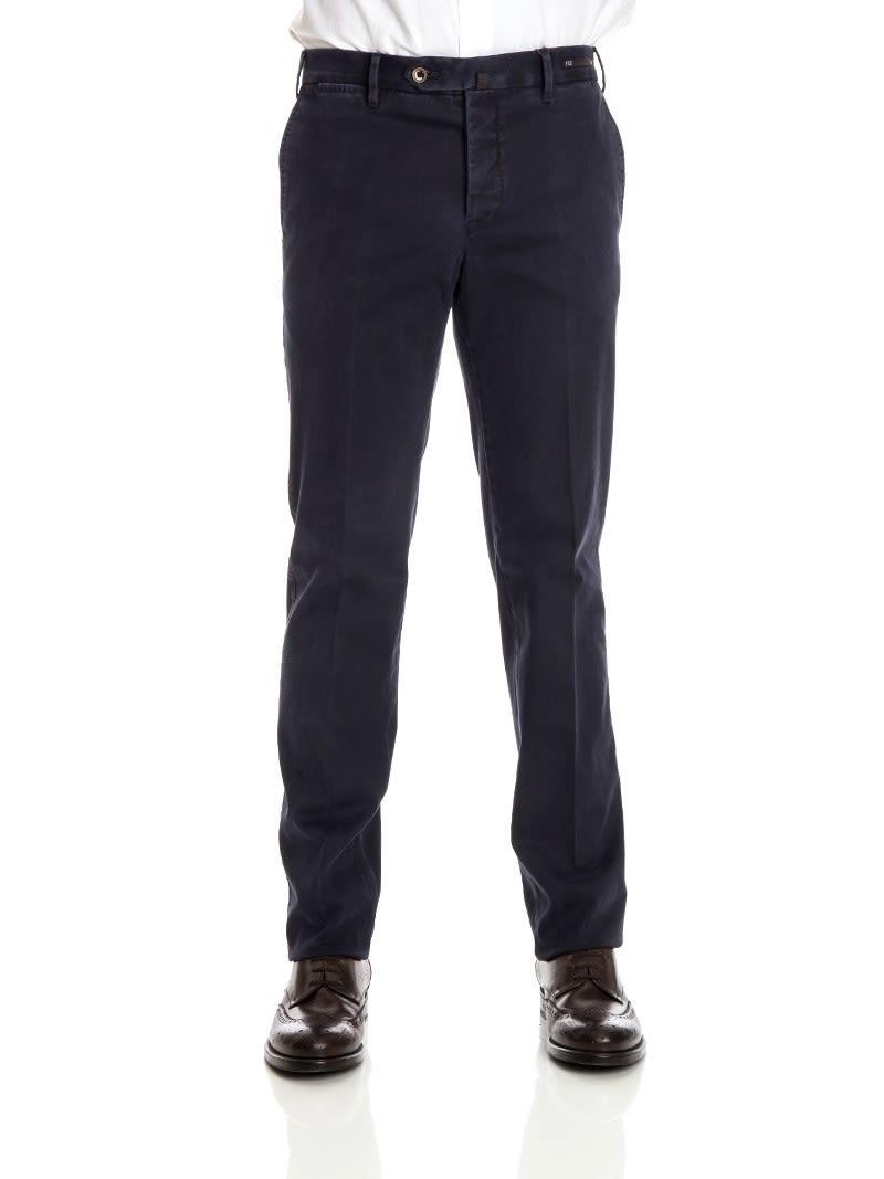 Pt01 Trousers Colour In Blue