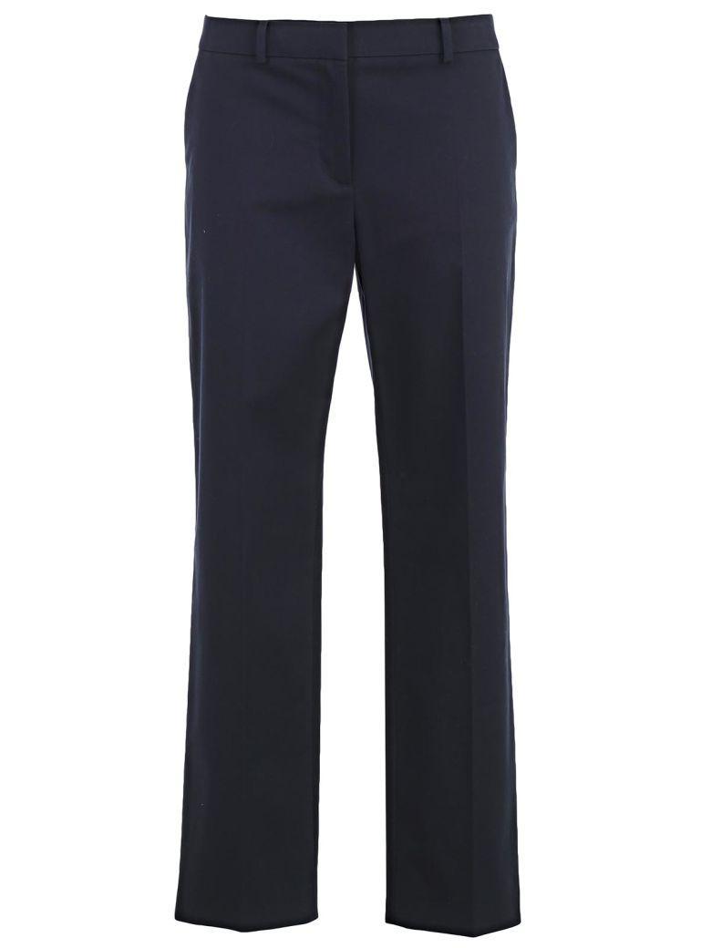 MantÙ Straight Leg Trousers In Navy