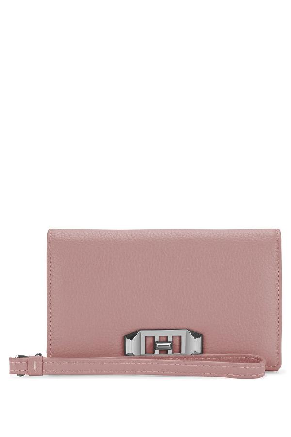 Rebecca Minkoff Love Lock Wristlet For Iphone 8 Plus & Iphone 7 Plus In Blossom