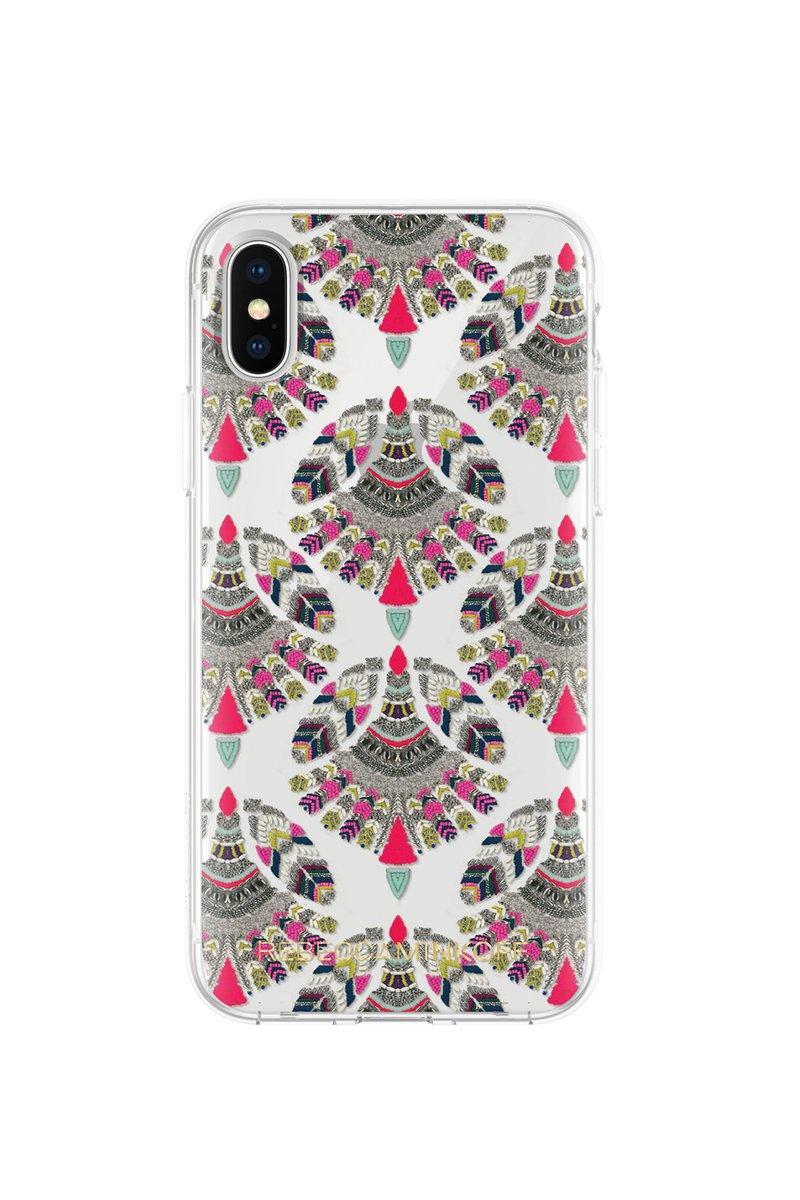 Rebecca Minkoff Fan Print Case For Iphone Xs & Iphone X In Multi