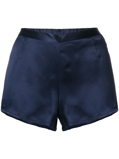 La Perla Night Shorts - Blue