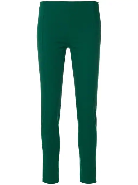 Joseph Skinny Trousers In Green
