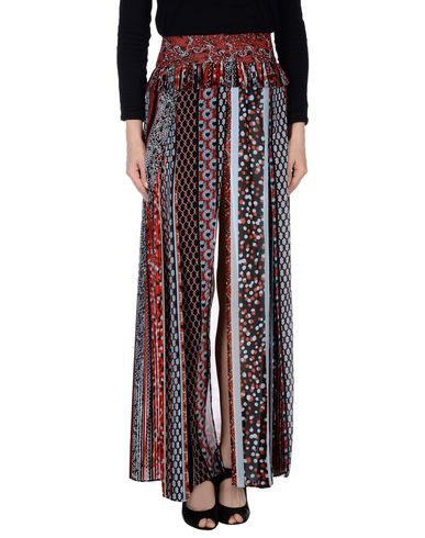 Just Cavalli Casual Pants In Brick Red