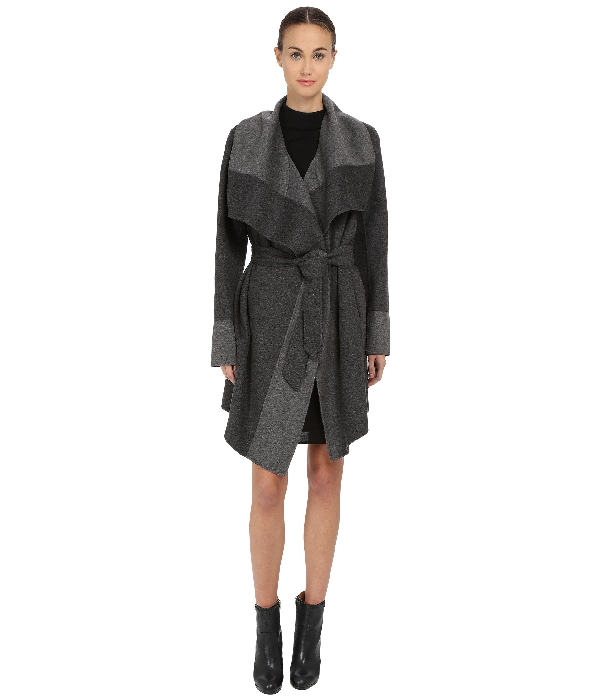Diane Von Furstenberg Mackenzie In Charcoal/grey
