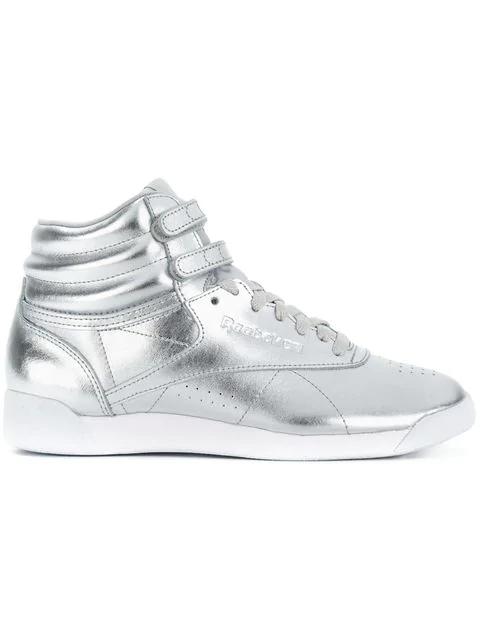Reebok Freestyle Sneakers - Metallic