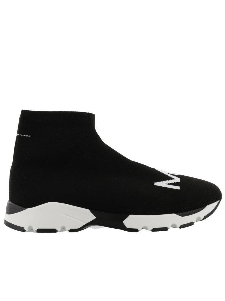 Mm6 Maison Margiela Sneaker In Black-white