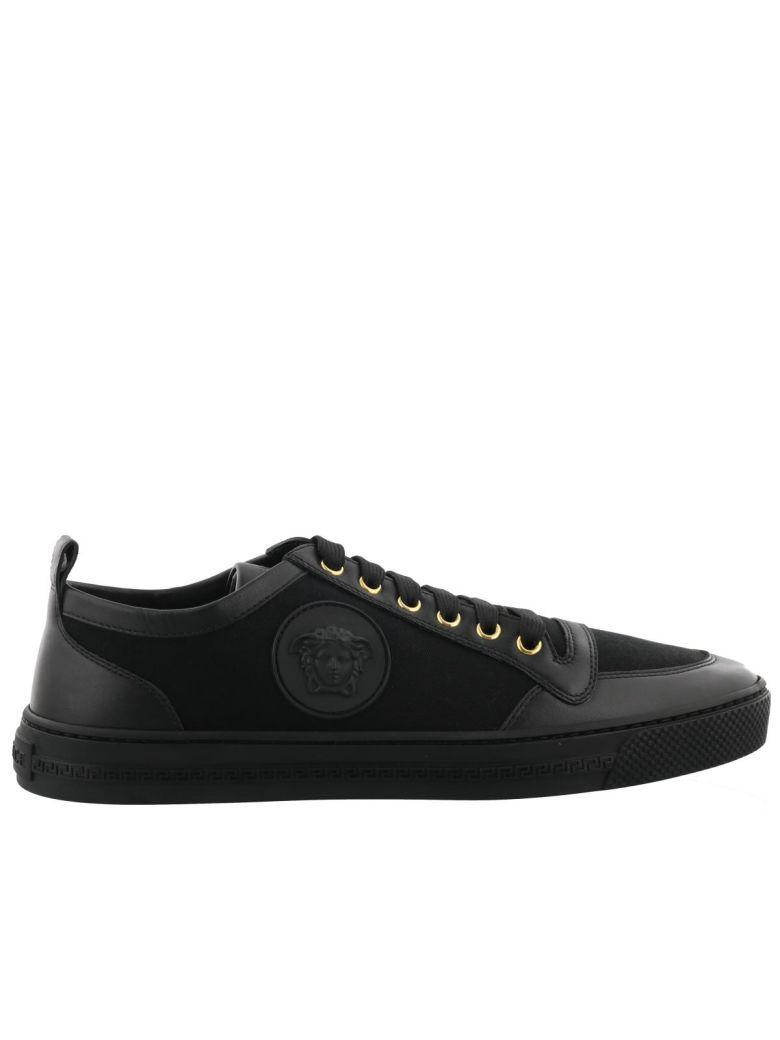 Versace Sneaker In Black
