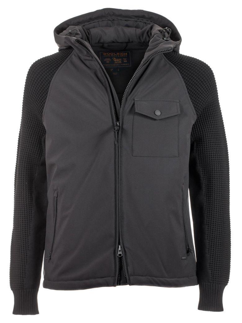 Woolrich Plum Run Jacket In Grey