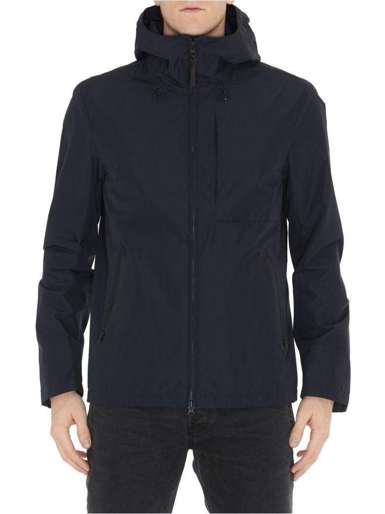Woolrich Pacific Jacket In Melton Blue